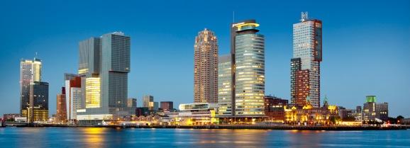 964_Rotterdam_Skyline